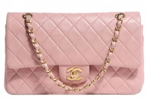 BW81395-CHANEL-Lambskin-Quilted-Medium-Double-Flap-Light-Pink-0