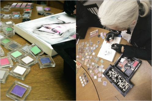 see-karl-lagerfeld-working-on-his-shu-uemura-collection